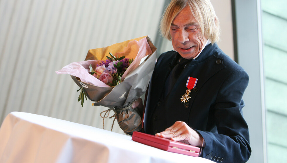 RIDDER: Jahn Teigen ble i 2009 utnevnt ridder av 1. klasse av Den Kongelige Norske St. Olavs Orden. Foto: NTB Scanpix