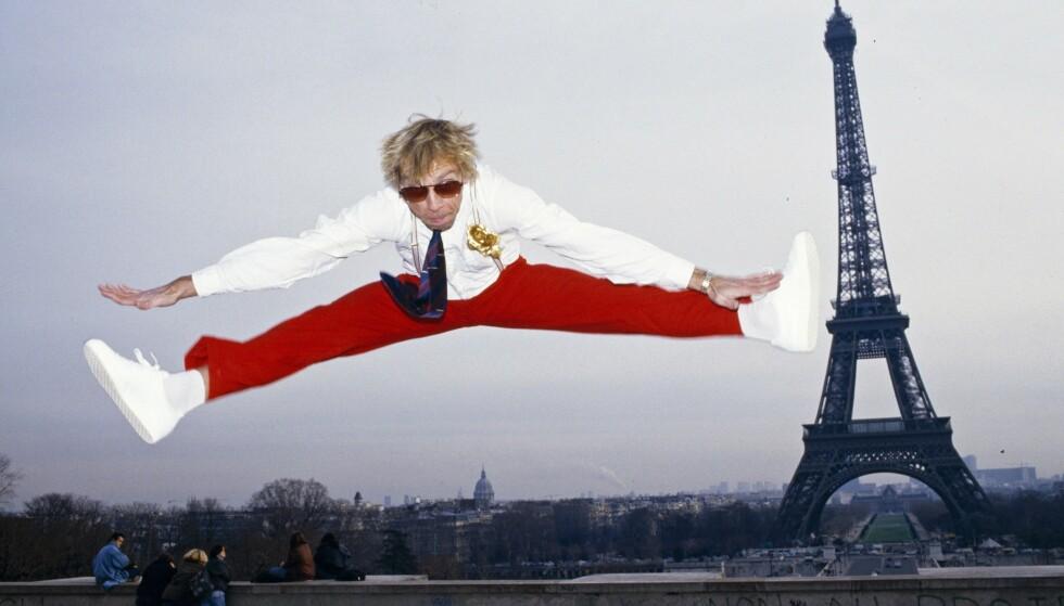 1988: Jahn Teigen returnerte til Paris ti år etter at «Mil etter mil» fikk null poeng i Eurovision-finalen i samme by. Foto: Tor Kvello / Se og Hør