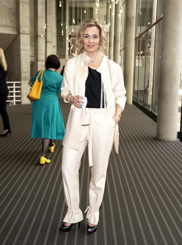 SUKSESS: Line Verndal er en ettertraktet skuespiller. Her er hun under Gullruten i 2018. Foto: Andreas Fadum / Se og Hør