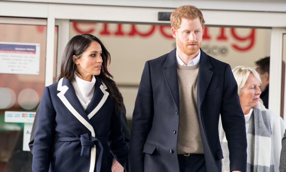 OPPHØRER: Canada kommer ikke lenger til å betale for hertuginne Meghan og prins Harrys sikkerhet. Foto: NTB scanpix