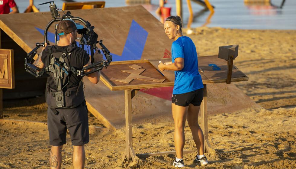 HARDT: Kjersti Buaas legger ikke skjul på at konkurransen har vært beinhard. Foto: Tor Lindseth