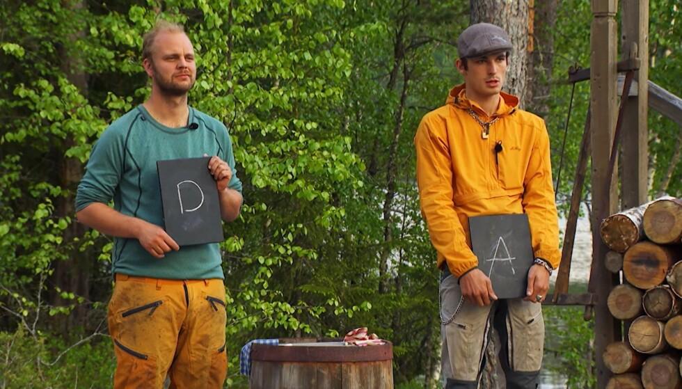 KUNNSKAP: Sellevoll tapte etter at Kristjánsson valgte kunnskap som grein i tvekampen. Foto: TV 2