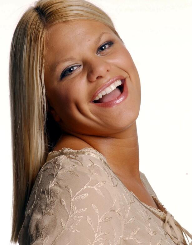 TV-STJERNE: Jade Goody ble kjent over natta etter realitydeltakelsen i 2002. Da var hun 21 år gammel. Foto: NTB Scanpix