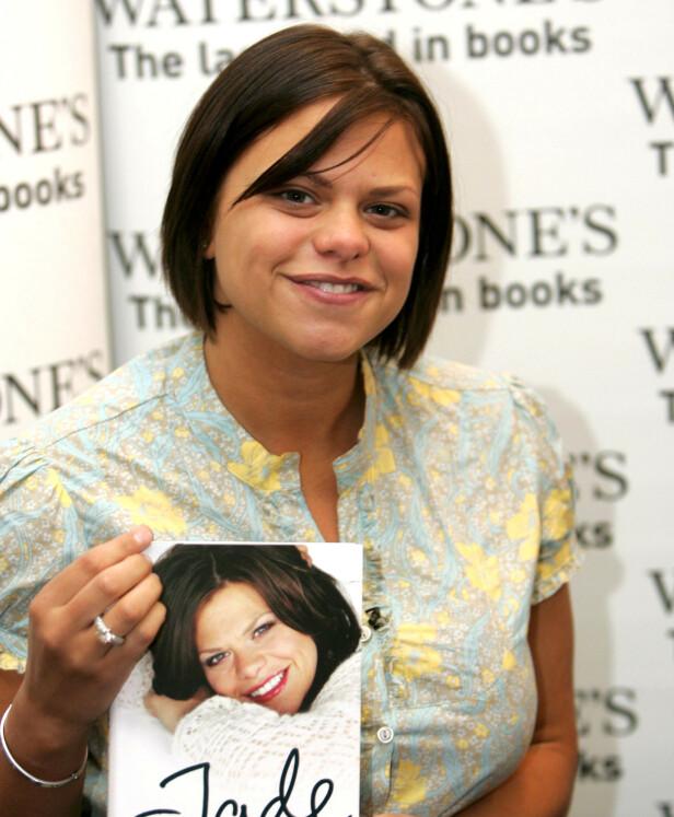 FORFATTER: I 2006 ga Jade Goody ut sin første selvbiografi. Foto: NTB Scanpix
