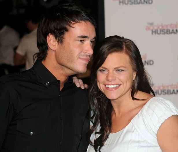 REALITY: Goody tok med seg kjæresten, Jack Tweed, inn i realityhuset. Foto: NTB scanpix
