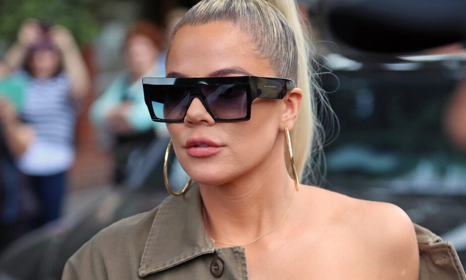 SLUTTET Å AMME: Khloé Kardashian måtte slutte å amme datteren. Nå forteller hun hva som skjedde, og hva som hjalp henne. Foto: NTB scanpix