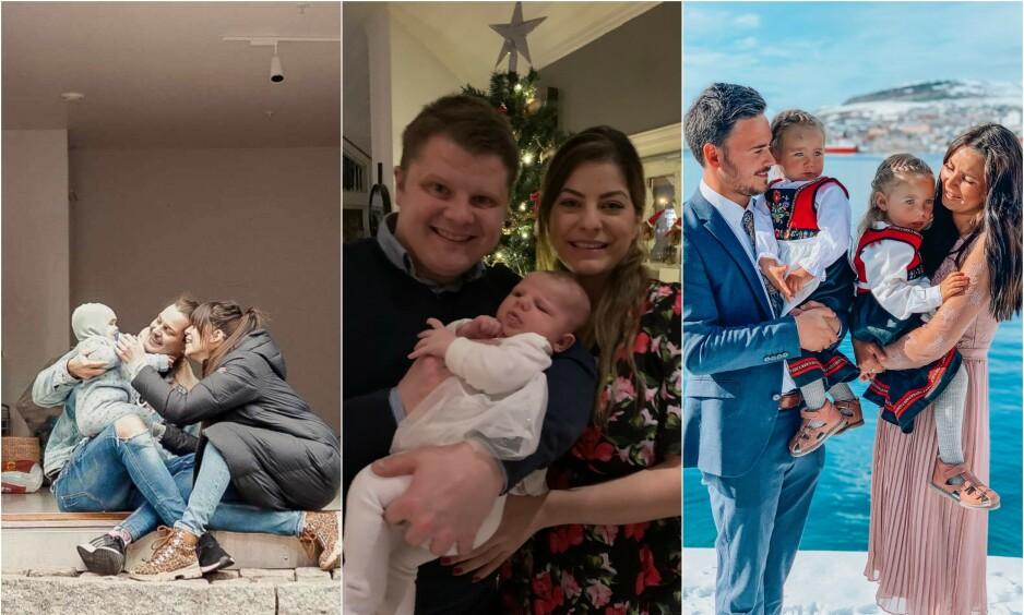 REALITYDELTAKELSE FØRTE TIL FAMILIE: Flere realitydeltakere har funnet hverandre på tv, og senere fått barn sammen. Foto: Privat