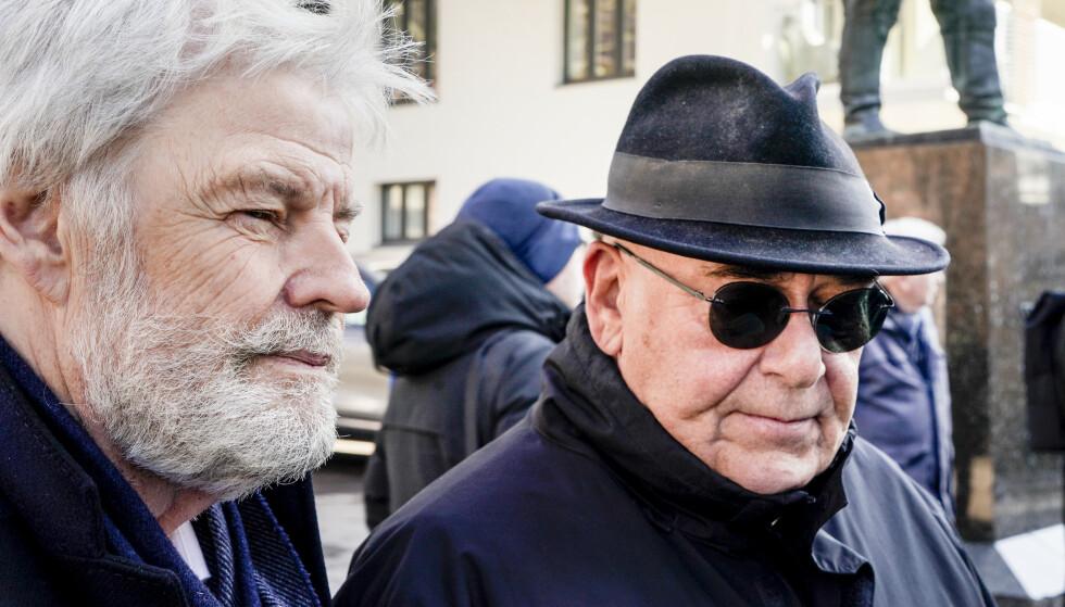 VENNER AV TEIGEN: Tom Mathisen og Herodes Falsk utgjorde Prima Vera sammen med Teigen. Begge kameratene forteller at de besøkte ham i Sverige nylig. Teigen bidro alltid med nye ideer, sier Falsk.