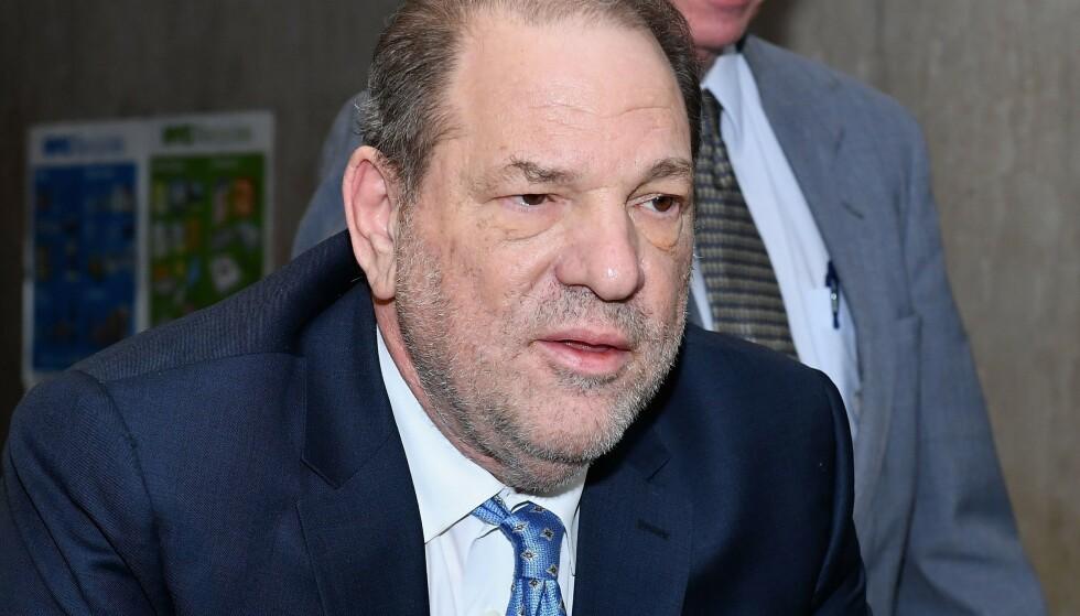 SKYLDIG: Harvey Weinstein ble i februar funnet skyldig i seksuelle overgrep. Onsdag kom dommen. Foto: NTB scanpix