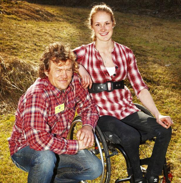 SJARMERTE ALLE: Birgit ble en TV-favoritt gjennom sin innsats i «Ingen grenser» med Lars Monsen (56). Foto: NRK