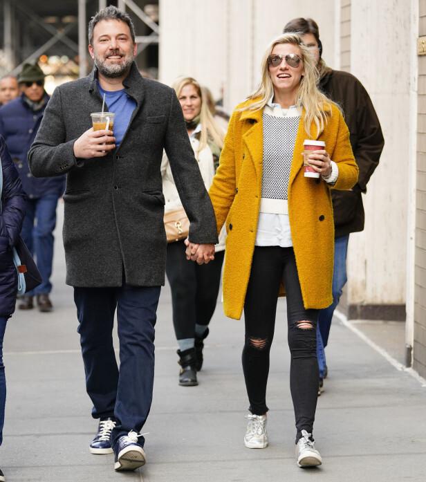 DATET: Ben Affleck og Lindsay Shookus har datet i lengre tid etter skilsmissen med Jennifer Garner. Foto: NTB scanpix