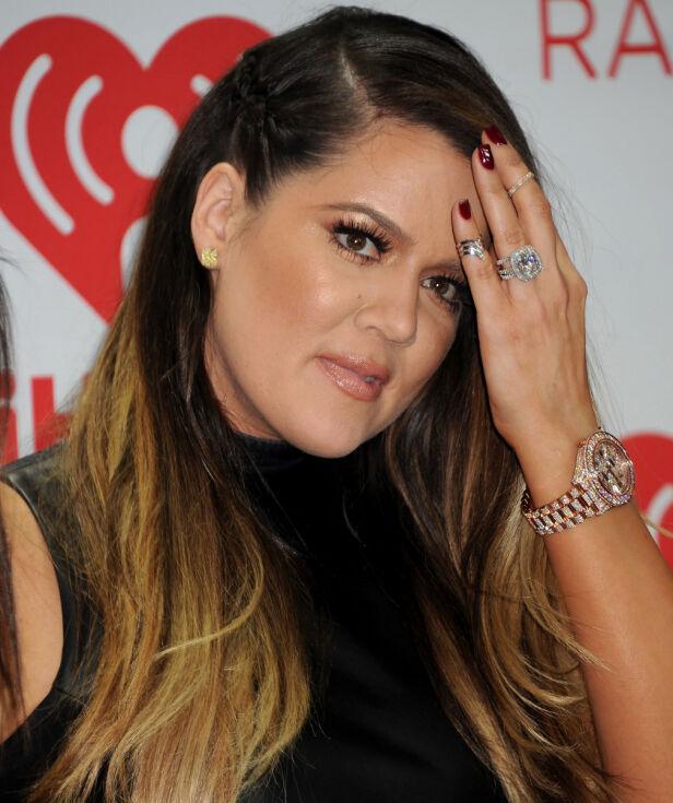 TURBULENT: Khloé Kardashian hadde et turbulent ekteskap, men ringen var i hvert fall vakker. Foto: NTB scanpix
