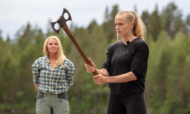 <strong>HATER Å TAPE:</strong> Som idrettsutøver kan man neppe forvente annet enn at Hege Bøkko ikke liker å tape en konkurranse. Foto: Alex Iversen/TV 2
