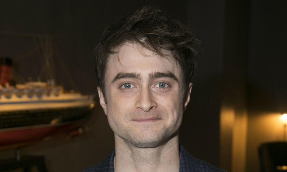 IKKE SMITTET: Daniel Radcliffe har måttet avvise at han er smittet av corona etter at det dukket opp falsk nyhet om ham. Foto: NTB scanpix