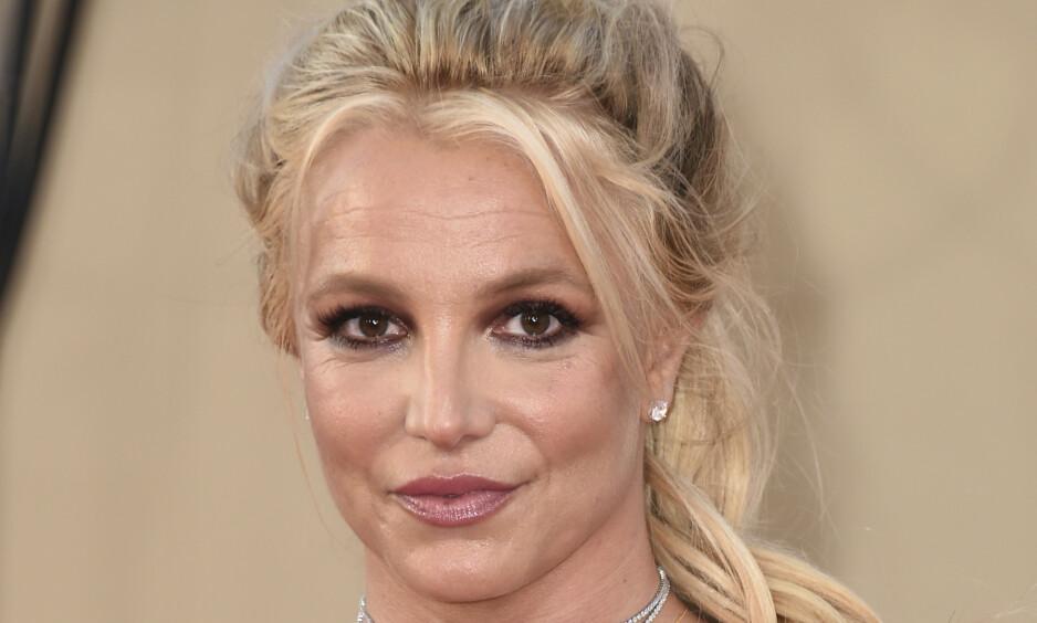 I STREIK: Britney Spears gjør angivelig opprører mot faren og vergemålet. Foto: NTB scanpix