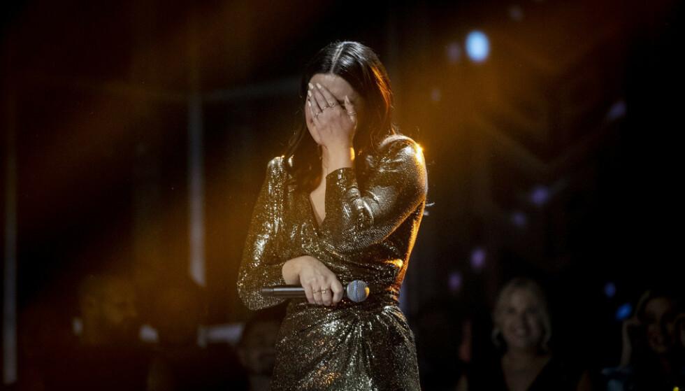 AVLYST: Norges Eurovison-håp Ulrikke Brandstorp får ikke representere Norge i den europeiske finalen. Onsdag ble konkurransen avlyst. Foto: Bjørn Langsem/ Dagbladet.