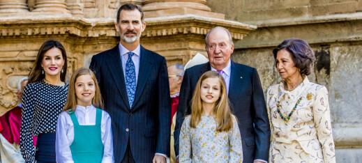 Nok en kongelig skandale i Spania