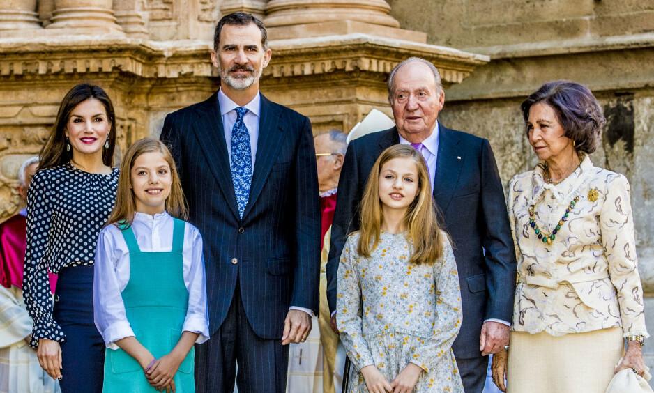 AVSLØRING: Spanias tidligere konge, Juan Carlos (82), skal ha mottatt penger fra et saudi-arabisk fond, før han i 2014 abdiserte. Nå fratas han apanasjen. Foto: NTB scanpix