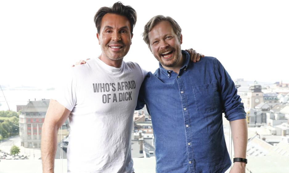 AVSLØRING: I podkasten «Jan Thomas og Einar blir venner» røper førstnevnte at han har gjennomført en hårtransplantasjon. Foto: NTB Scanpix