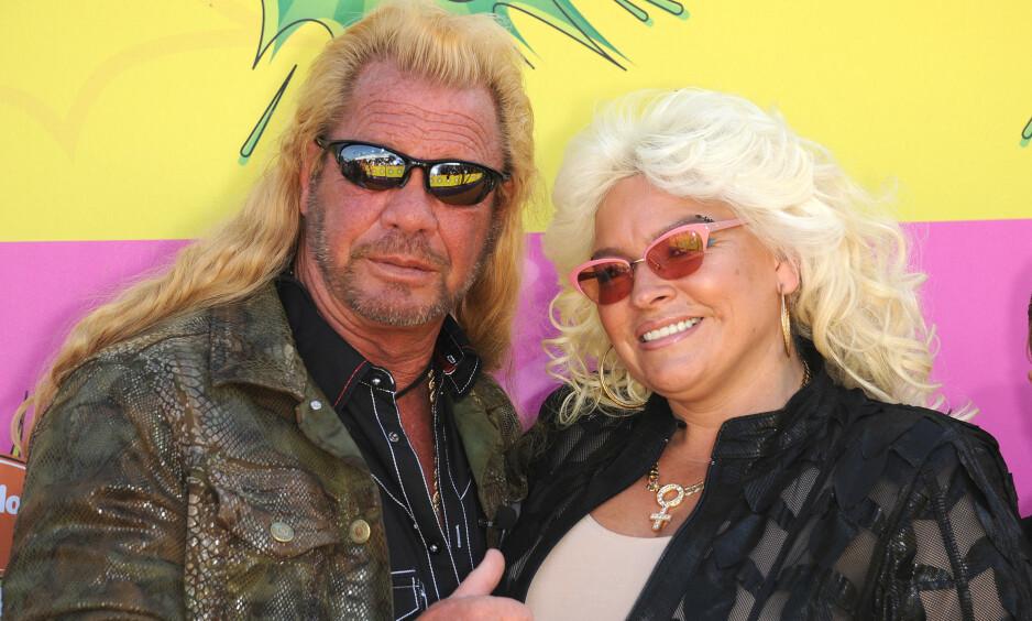 <strong>NY KJÆRESTE:</strong> Duane Chapman har funnet kjærligheten på ny etter kona Beth Chapmans bortgang i fjor. Her er det tidligere ekteparet avbildet i 2016. Foto: NTB scanpix