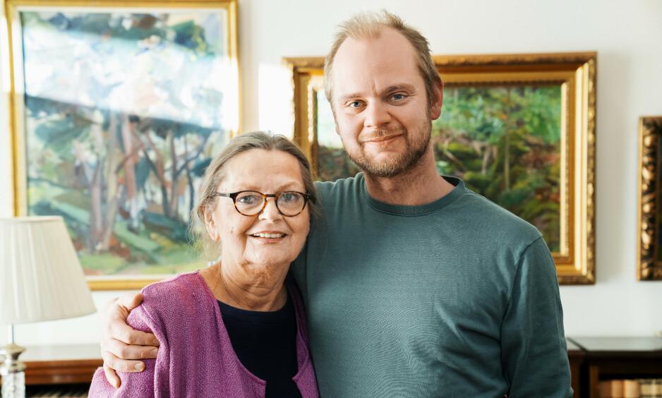 KREFTSYK: Mímir Kristjánssons barndom var sterkt preget av morens kreftdiagnoser. Foto: Espen Solli/ Se og Hør