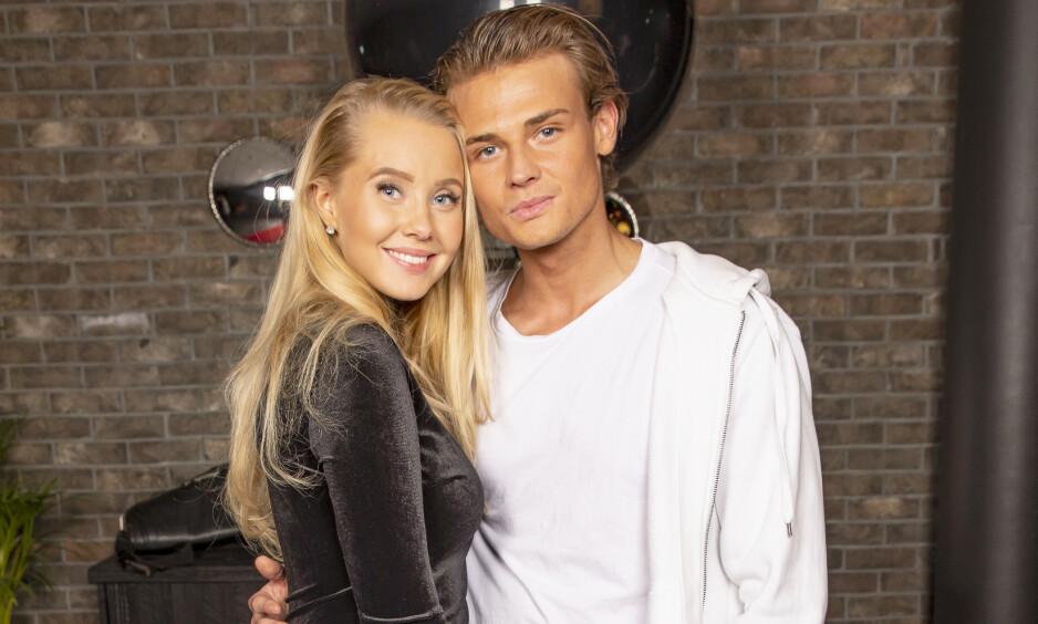 RYKTEFLOM: Martine Lunde og Aleksander Sæterstøl er et kjent par, og med det følger ofte utallige rykter. Foto: Tor Lindseth