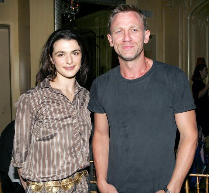 GIFT: Craig giftet seg med skuespiller Rachel Weisz i 2011. Foto: Dave Allocca/ Starpix/ REX/ NTB