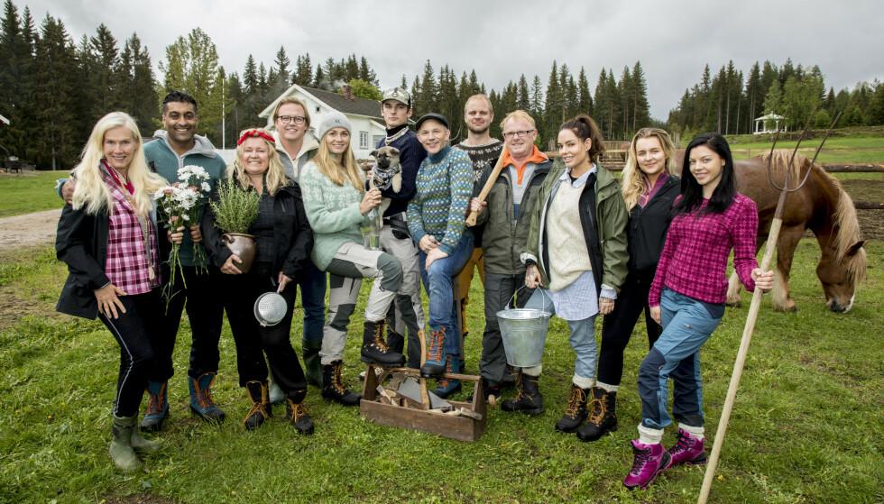AVLYST: Finalefesten for årets «Farmen kjendis»-sesong er avlyst. Nå avslører deltakerne hvordan de skal se finalen og feire oppholdet. Foto: Morten Eik / Se og Hør