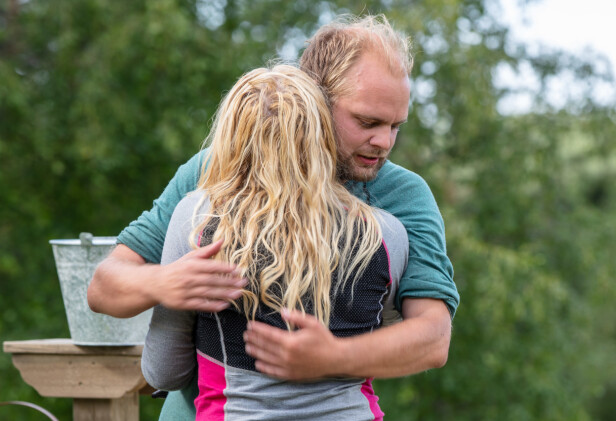 TIL FINALEN: Mia Gundersen fikk den siste finalebilletten etter å ha slått Rødt-politikeren. Foto: Alex Iversen / TV 2