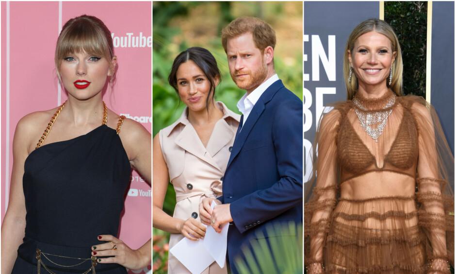 RASER: Tv-profilen Piers Morgan hudfletter en rekke kjendiser for måten de takler corona-krisen på. Taylor Swift, hertugparet og Gwyneth Paltrow er bare noen av dem. Foto: NTB Scanpix