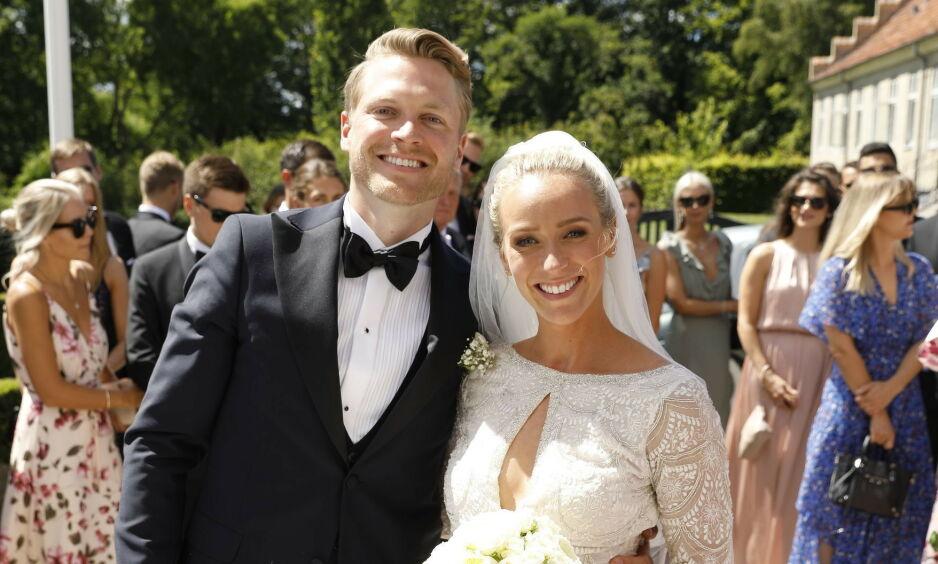 VENTER BARN: Katarina Flatland og ektemannen Harald Meling Dobloug venter sitt første barn sammen. Foto: Espen Solli / Se og Hør