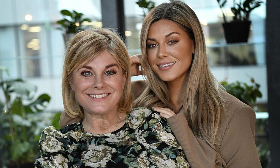 FÅR KRITIKK: Pernilla Wahlgren får kritikk etter et bilde som strider mot corona-tiltakene. Her sammen med datteren Bianca Ingrosso. Foto: Aftonbladet / NTB Scanpix