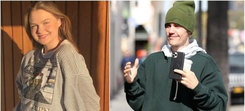 Norske Anna (20) tatt på senga av Bieber