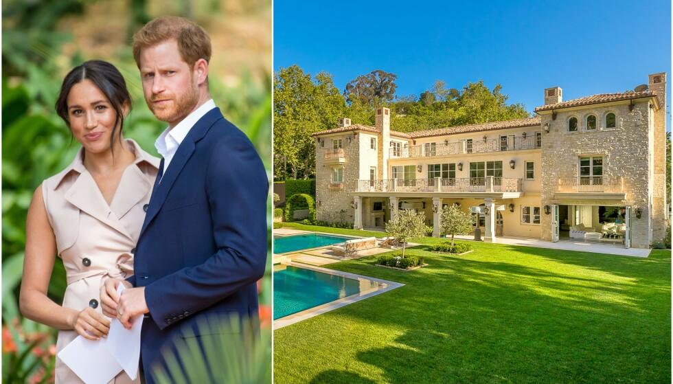 HUSJAKT: Prins Harry og hertuginne Meghan er angivelig på husjakt i Los Angeles-området, og skal blant annet ha sett seg ut Kylie Jennes tidligere hjem i Malibu. Foto: NTB scanpix