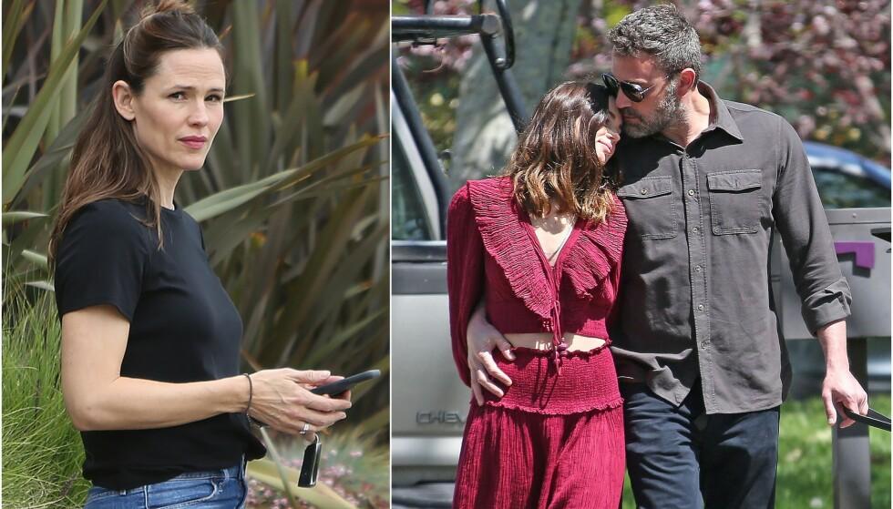 IKKE KLAR: Jennifer Garner mener angivelig at det er for tidlig for barna å møte farens nye kjæreste, Ana de Armas. Foto: NTB scanpix