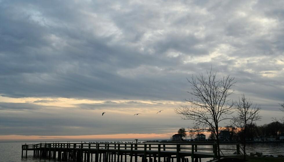 FORSVANT HER: Maeve og sønnen Gideon forsvant fra Chesapeake Bay torsdag. Foto: NTB scanpix