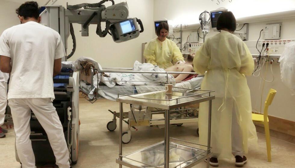 HYPPIG INNLAGT: Marcus gjennomgikk flere operasjoner og kreftkurer. Til slutt klarte ikke kroppen mer. Foto: Privat