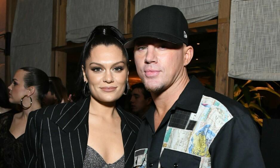 AV OG PÅ: På ett og et halvt år skal Jessie J og Channing Tatum ha rukket å gjøre det slutt to ganger. Foto: NTB scanpix