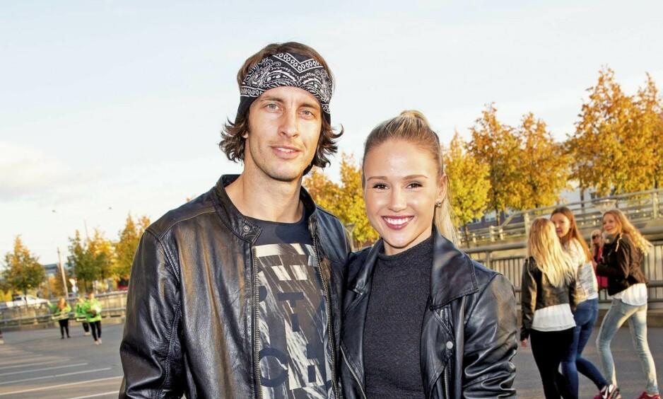 VENTER BARN: André Villa og Rachel Nordtømme venter sitt andre barn sammen. Foto: Andreas Fadum / Se og Hør