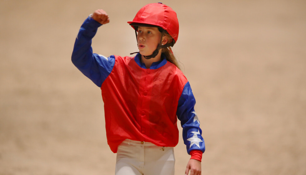 <strong>PÅ HESTERYGGEN:</strong> Leah Isadora vant ponni-rittet under Oslo Horse Showfor tre år siden.  Foto: NTB scanpix
