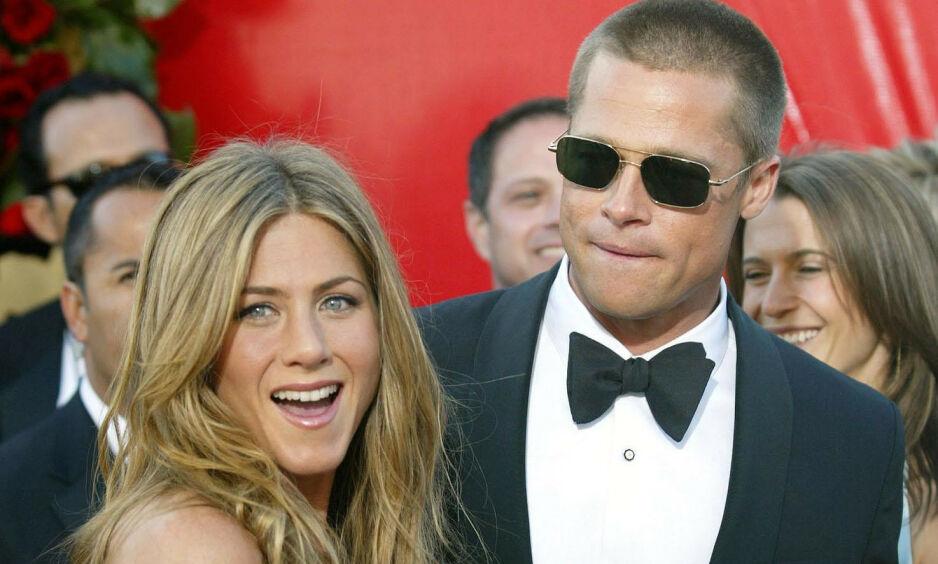 AVSLØRER: Det er mange som håper at Jennifer Aniston og Brad Pitt skal finne tilbake til hverandre. Nå letter en nær venn av dem på sløret om ståa. Foto: NTB Scanpix
