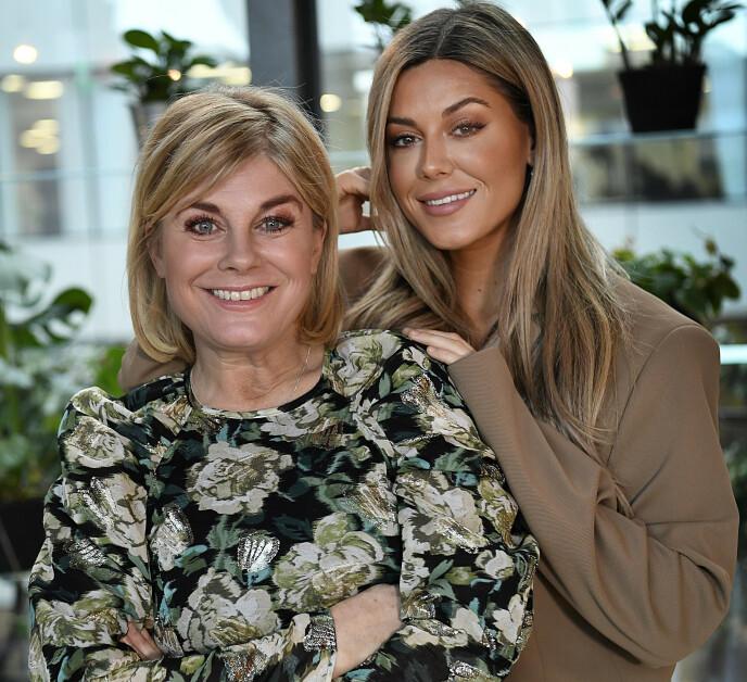 PÅ FLØRTERN: Svenske Pernilla Wahlgren bekrefter at hun har truffet en ny mann. Her med dattera Bianca Ingrosso i 2020. Foto: Björn Lindahl / Aftonbladet / IBL / NTB