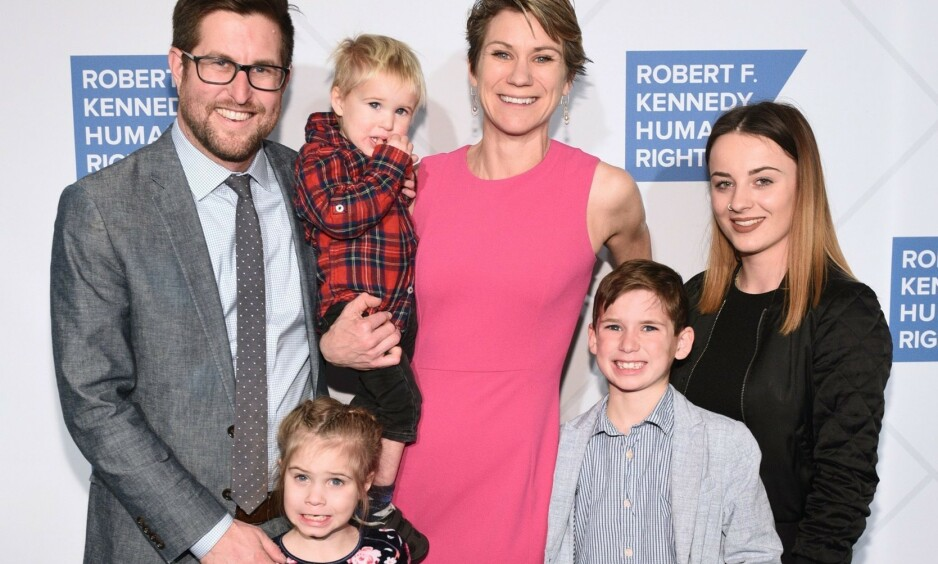 FUNNET DØDE: Både Maeve Kennedy Townsend McKean og sønnen Gideon (8) er nå funnet døde, etter å ha vært savnet siden forrige uke. Foto: NTB Scanpix