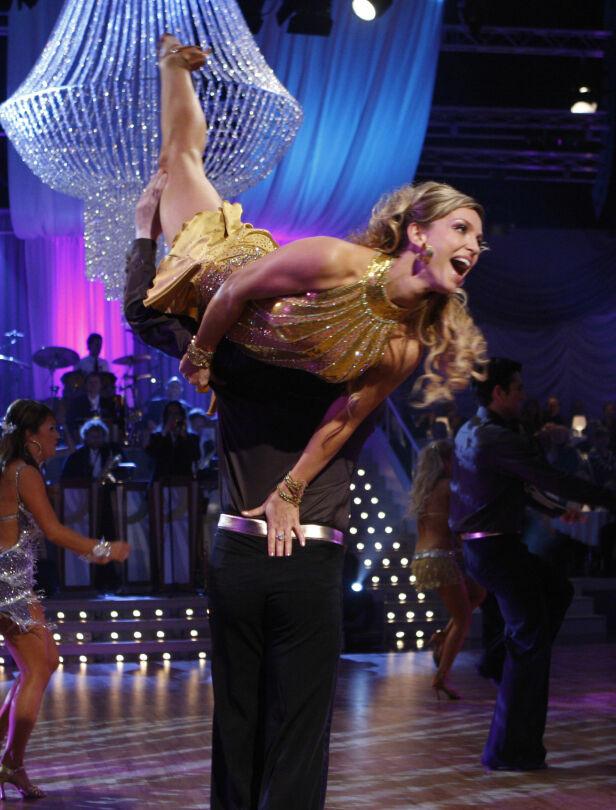 NORGESKJENT: Wedvik deltok i «Skal vi danse», i 2007. Foto: NTB scanpix
