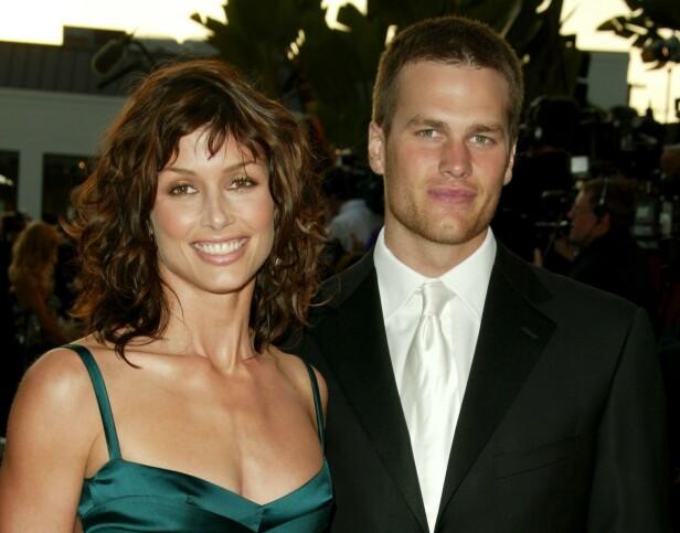 <strong>EKSPAR:</strong> Bridget Moynahan og Tom Brady fikk en sønn sammen, etter at forholdet deres hadde tatt slutt. Her sammen i 2005. Foto: NTB Scanpix