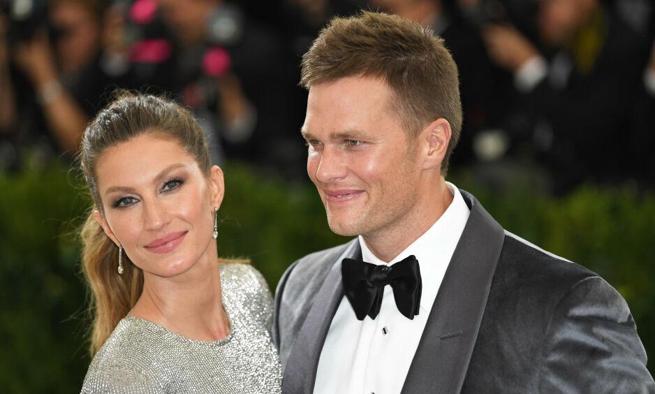 TOK GREP: Stjerneparet Tom Brady og Gisele Bündchen har vært sammen i en årrekke, men det har slett ikke bare vært en dans på roser. Foto: NTB Scanpix