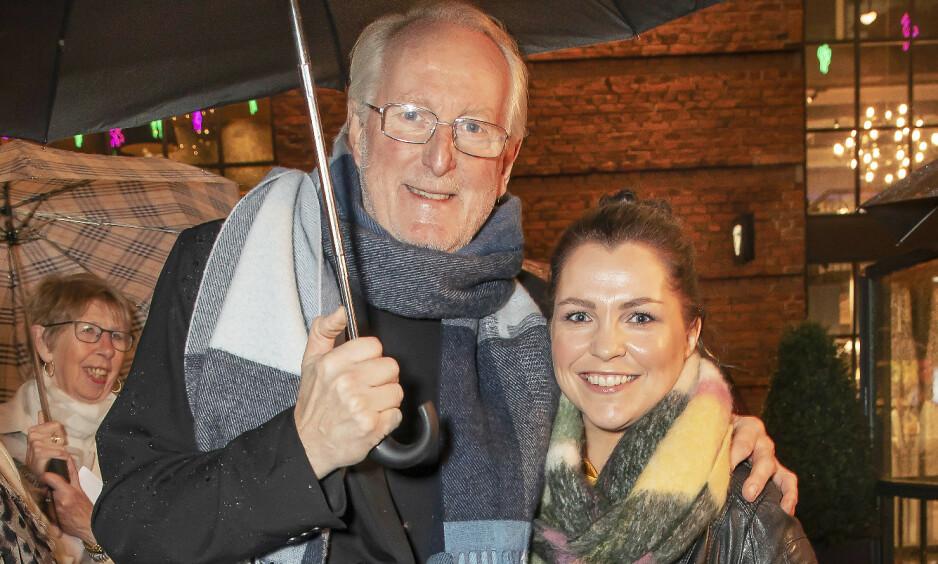 PENT PAR: Det var i 2018 at Eyvind Hellstrøm avslørte at han var i et forhold med 31 år yngre Anita Rennan. Nå er de to samboere, og nyter tiden sammen. Foto: Tore Skaar / Se og Hør