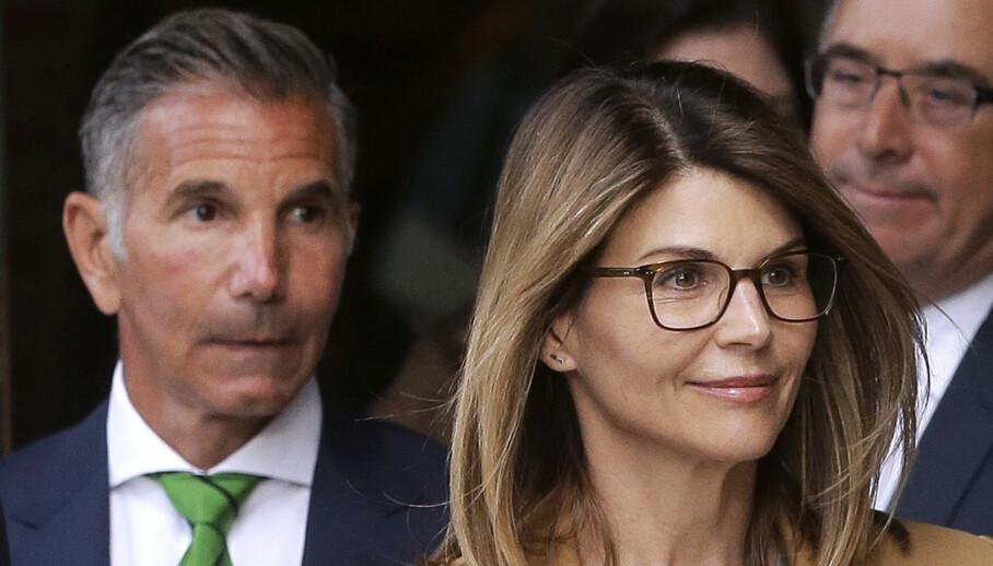 MÅ SONE: Mossimo Giannulli og kona Lori Loughlin må i fengsel. Foto: NTB scanpix
