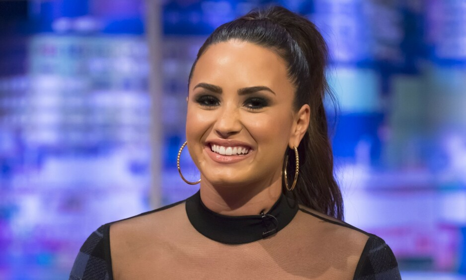 ÅPEN: Demi Lovato mener at kjønn ikke har noen betydning, kjærlighet er kjærlighet. Foto: NTB Scanpix