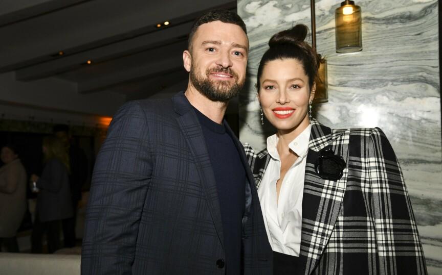 FORELDRE IGJEN: Stjerneparet Justin Timberlake (39) og Jessica Biel (38) skal ha fått en sønn. Det bekrefter kilder nær paret overfor Daily Mail. Foto: NTB Scanpix